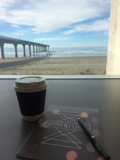 View from New Brighton library, Christchurch